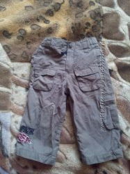Штаны на подкладке topilino на мальчика 9-18мес, рост 80см