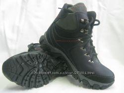 Продам на мальчика зимние ботинки из натуральной кожи 2 модельки