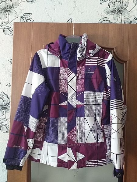 Bergson supra-tex лыжная куртка