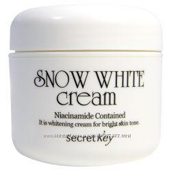 Увлажняющий крем с активным отбеливающим эффектом Secret Key Snow White  Cr