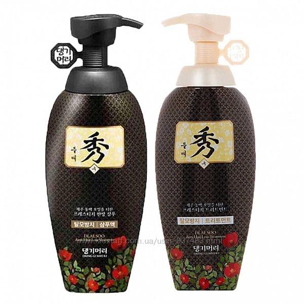 Шампунь и кондиционер Daeng Gi Meo Ri Dlae Soo Anti Hair Loss Shampoo