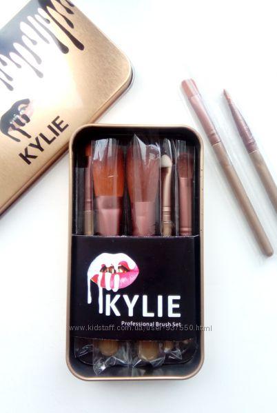 Набор кистей для нанесения макияжа Кайли
