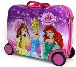Детский чемодан каталка София Тачки принцессы