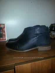 Ботинки кожа 38