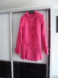 Добротное пальто на подкладке. Англия. XS