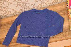 Теплый вязаный акриловый свитер. Оверсайз. Англия