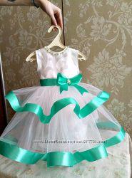 Платье нарядное пышное 2-3 года