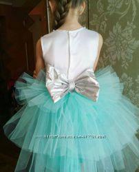 Нарядное платье на выпускной 5-7 лет