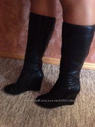 Новые кожаные сапоги Braska