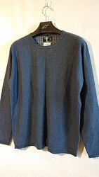 Мужской тонкий джемпер, реглан, свитер, кофта, xl-2xl, наш 50-52-54 хлопок