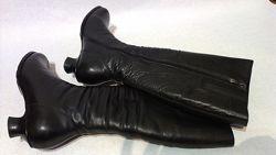Женские зимние сапоги carnaby 39р кожа, натуральный мех, зима