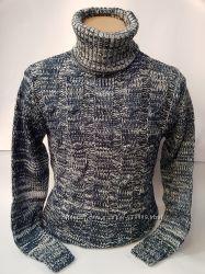 Очень теплый гольф турецкий свитер на замке замок зимний