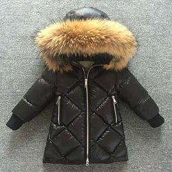 Детский зимний пуховик куртка LB moncler монклер reima carters lenne zara