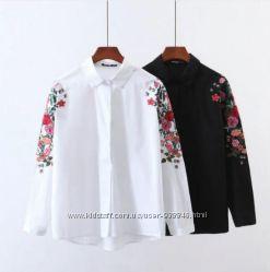 Вышиванка Рубашка Блузка блуза рубаха хлопок