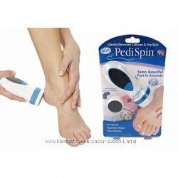 Компактная машинка для педикюра Педи Спин Pedi Spin