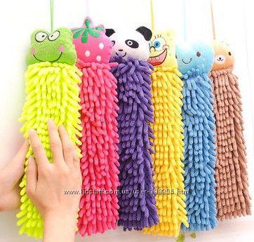 Детское полотенце-игрушка из микрофибры