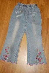 Джинсы штаны брюки для девочки 2-3 года