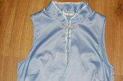 Платье из атласа стретч Topshop, размер S