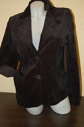 Пиджак велюровый черный, размер - S