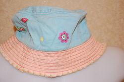 Панама шляпа для девочки объем 53 см