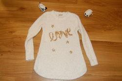 Платье туника травка Kids Star для девочки 8-10 лет