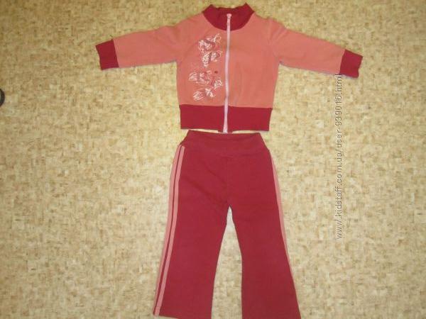 Детский спортивный костюм для девочки Фламинго р. 92