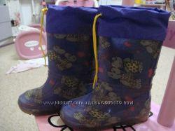 Резиновые сапоги для девочки с утеплением ALISA 27 р. 18 см