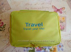 17c0f9b1f30a Салатовая вместительная дорожная сумка-органайзер Travel bag, 349 ...