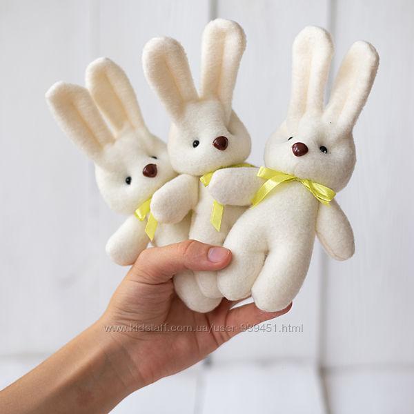 Декоративные зайки мишки из фетра для свадеб, корпоративов, праздников