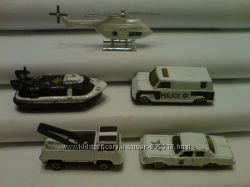 Полицейские машинки и вертолёт