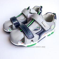Кожаные ортопедические босоножки для мальчика ТМ BiKi
