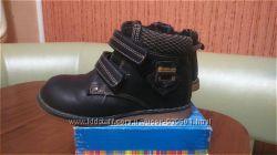 Демисезонные ботинки Шалунишка размер 24