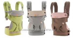 Эрго рюкзак Ergo Baby Four Positions 360. В подарок накладки для сосания