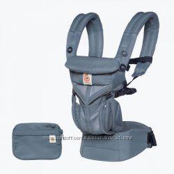 Новинка Улучшенный эргорюкзак Ergo baby OMNI 360 Cool Air с сеточкой.