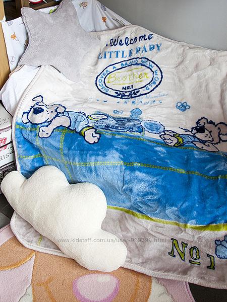 Детский плед в кроватку Karaca Home