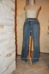 Красивые прямые джинсы Maria Intscher оригинал Италия на 44 укр р
