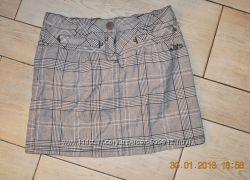 Красивая юбка-стретч S. Oliver в идеальном состоянии недорого р 152
