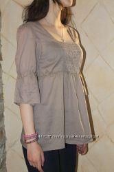 Невесомая тонкая летняя блуза Bodyflirt от Bonprix на 46 укр р