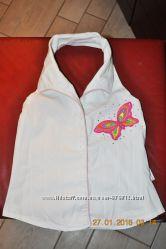 Шикарная открытая летняя блуза Wojchik для девочки 128 см