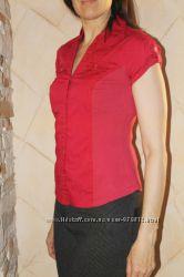 Красивая приталенная летняя блуза-стретч John Baner от Bonprix на 44-46 р
