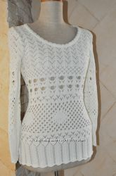 Красивый вязаный пуловер Bodyflirt от Bonprix на укр 46 р