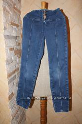 Красивые летние джинсы Gloria Jeans для девочки. Размер 152.