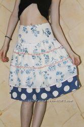 Очень красивая летняя нарядная юбка Wojcik Collection 122 р