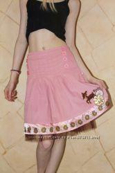 Красивая юбка TM Barbie на девочку 7-8 лет 128 см
