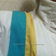 Куртка. Новая. Белая. Олимпийский пошив. Котон шлифов. Не сминается. Недоро