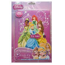 Блокнот Disney для секретів Вашої Принцеси 196 арк. Мерехтить при натисканн