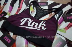 спортивные топы Victorias Secret Racerback и CROSSBACK sport bra размер S