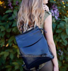 Сумка рюкзак Кожа , трансформер  Натуральная кожа  в цвете