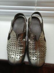 Женские кожаные сандалии, туфли Hotter. Оригинал