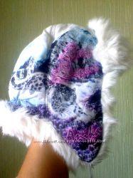 Зимняя шапка теплая